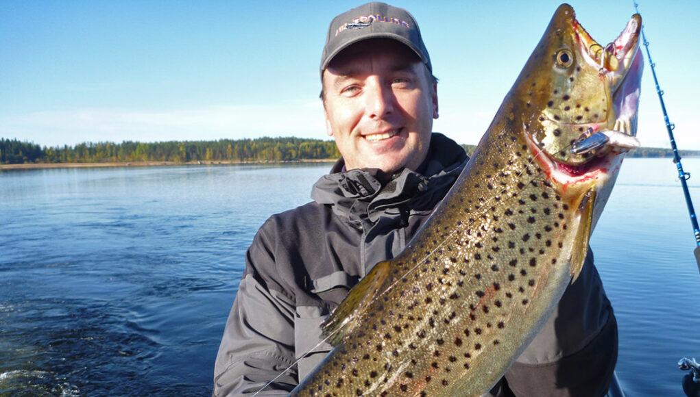 Рыбалка на озере Сайма