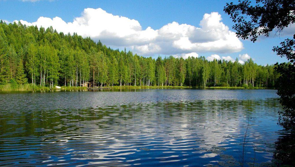 Озерный регион Финляндии